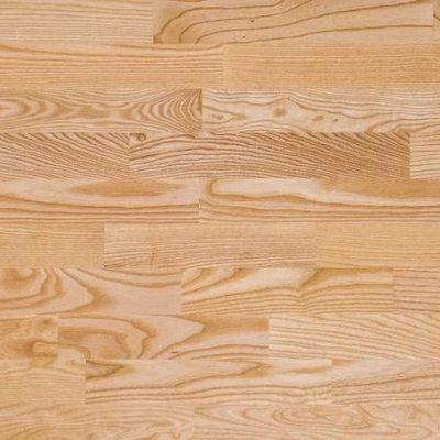 Массивная доска Amber Wood Ясень Белый