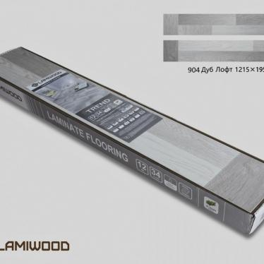 Ламинат Lamiwood Дуб Лофт 904 - купить в «Начни Ремонт» интернет-магазин — продажа напольных покрытий. - 1