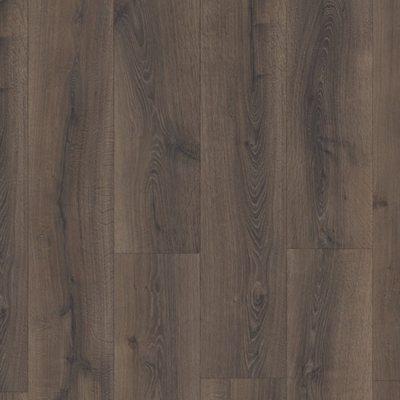Ламинат Quick-Step Majestic MJ3553 Дуб Пустынный Шлифованный Темно-коричневый