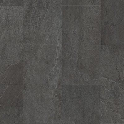 Виниловый ламинат Quick-Step Livyn Ambient Click AMCL40035 Сланец Чёрный