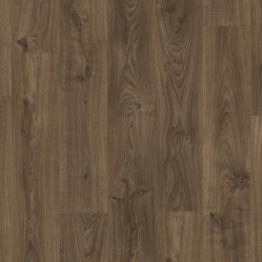 Виниловый ламинат Quick-Step Livyn Balance Click BACL40027 Дуб Коттедж Темно-коричневый - купить в «Начни Ремонт» интернет-магазин — продажа напольных покрытий.