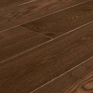 Паркетная доска Amber Wood Ash Сollection CN683 Ясень Миндаль Лак - купить в «Начни Ремонт» интернет-магазин — продажа напольных покрытий. - 1