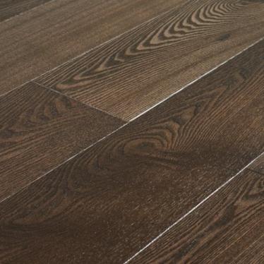 Паркетная доска Amber Wood Ash Сollection CN684 Ясень Бурбон Браш Лак - купить в «Начни Ремонт» магазин напольных покрытий. - 1