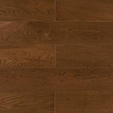 Паркетная доска Amber Wood Oak Сollection CN667 Дуб Миндаль Лак - купить в «Начни Ремонт» интернет-магазин — продажа напольных покрытий.