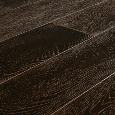 Паркетная доска Amber Wood Oak Сollection CN675 Дуб Мокко Браш Лак - купить в «Начни Ремонт» интернет-магазин — продажа напольных покрытий. - 1