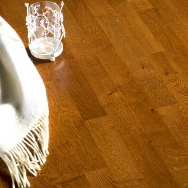 Паркетная доска Polarwood Classic 1028 Дуб Calvados - купить в «Начни Ремонт» интернет-магазин — продажа напольных покрытий. - 1