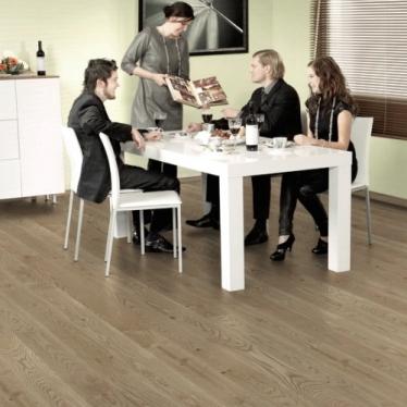 Паркетная доска Polarwood Space 10051 Дуб Carme - купить в «Начни Ремонт» интернет-магазин — продажа напольных покрытий. - 1