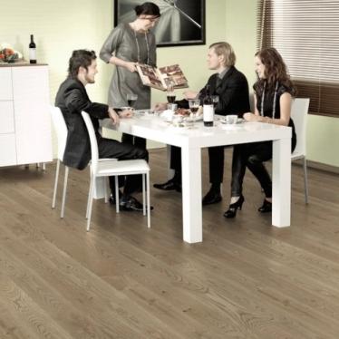 Паркетная доска Polarwood Space 10052 Дуб Carme Premium - купить в «Начни Ремонт» интернет-магазин — продажа напольных покрытий. - 1