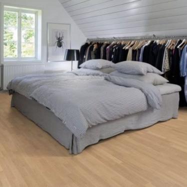 Паркетная доска Upofloor Ambient Дуб Select White Oiled 3S - купить в «Начни Ремонт» интернет-магазин — продажа напольных покрытий. - 1