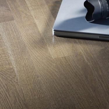 Паркетная доска Upofloor Forte Дуб Granite 3S - купить в «Начни Ремонт» интернет-магазин — продажа напольных покрытий. - 1