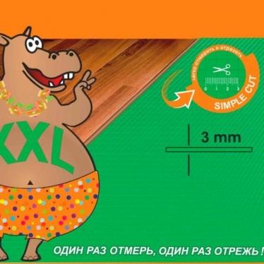 Подложка Листовая XXL Solid 3 мм Салатовая - купить в «Начни Ремонт» интернет-магазин — продажа напольных покрытий.