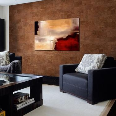 Пробка для стен Wicanders Dekwall Malta Chestnut RY1L001 - купить в «Начни Ремонт» интернет-магазин — продажа напольных покрытий.