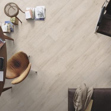 Ламинат Meister Дуб арктически-белый 6503 - купить в «Начни Ремонт» интернет-магазин — продажа напольных покрытий. - 7