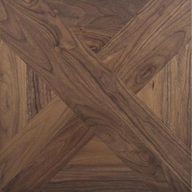 Модульный паркет Goodwin Art Орех американский W1 коричневый - купить в «Начни Ремонт» интернет-магазин — продажа напольных покрытий.