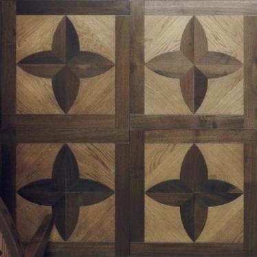 Модульный паркет Parquet In Fleur Light Oak Medium Walnut - купить в «Начни Ремонт» интернет-магазин — продажа напольных покрытий.