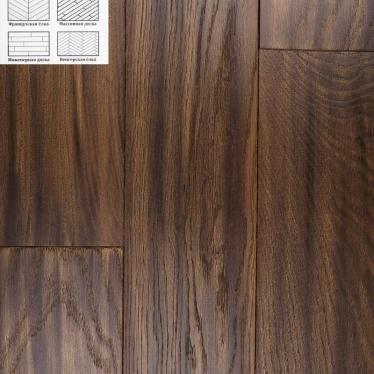 Массивная доска Winwood Oak Medina WW012 180 Рустик - купить в «Начни Ремонт» интернет-магазин — продажа напольных покрытий. - 2