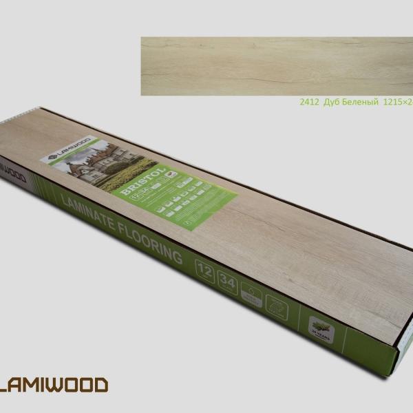Ламинат Lamiwood Дуб Беленый 2412