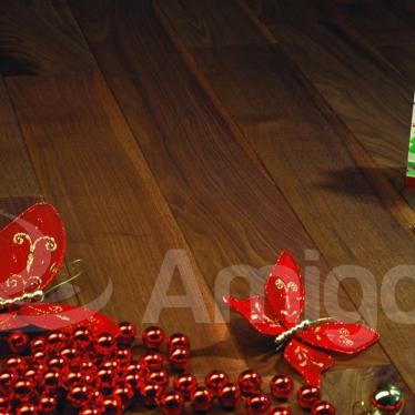 Массивная доска Viscork Орех Американский Натур - купить в «Начни Ремонт» интернет-магазин — продажа напольных покрытий.
