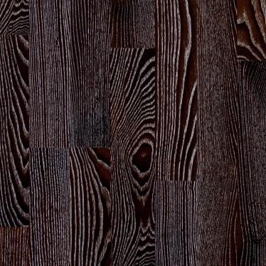 Паркетная доска GreenLine Ясень Термо Темный - купить в «Начни Ремонт» интернет-магазин — продажа напольных покрытий. - 2