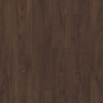 Ламинат Quick-Step Дуб Горный Темно-коричневый CLM4092
