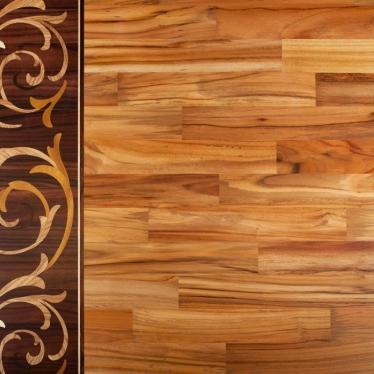 Штучный паркет Komodoor Тик Селект - купить в «Начни Ремонт» интернет-магазин — продажа напольных покрытий.