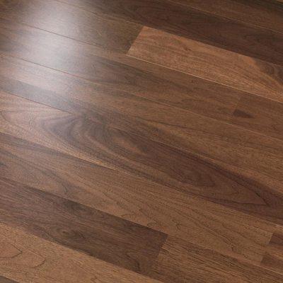 Штучный паркет Magestik floor Орех Американский Селект лак