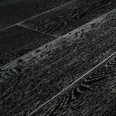 Массивная доска Amber Wood Дуб Черно-Белый