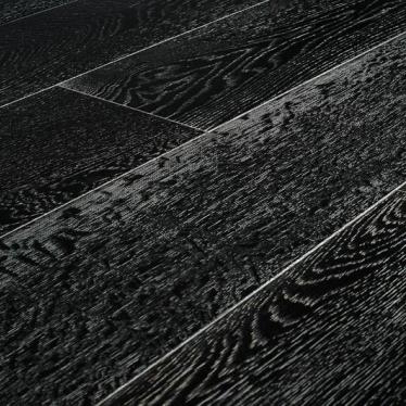 Паркетная доска Amber Wood Дуб Черно-Белый - купить в «Начни Ремонт» интернет-магазин — продажа напольных покрытий.