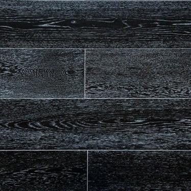 Паркетная доска Amber Wood Дуб Черно-Белый - купить в «Начни Ремонт» интернет-магазин — продажа напольных покрытий. - 1