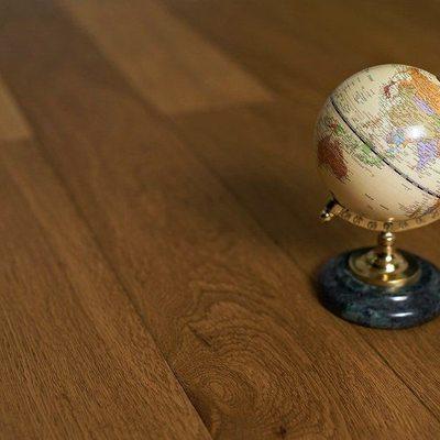 Паркетная доска Amber Wood Дуб Натур