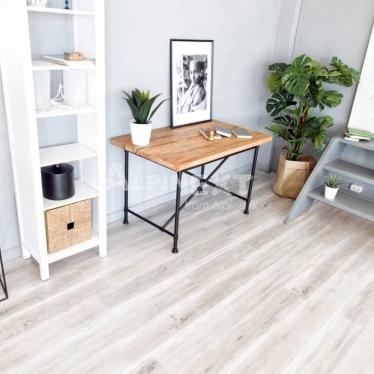 Виниловый ламинат Alpine Floor Дуб Выбеленный ЕСО182-8 - купить в «Начни Ремонт» интернет-магазин — продажа напольных покрытий.