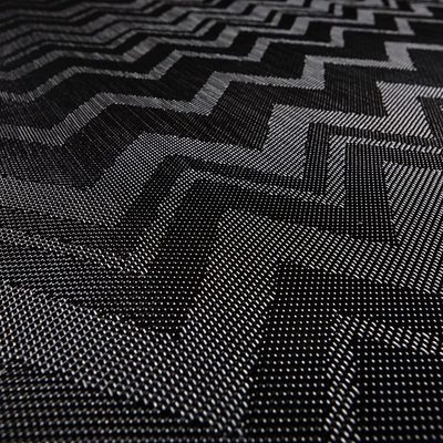 Bolon 104 269 Zigzag Black