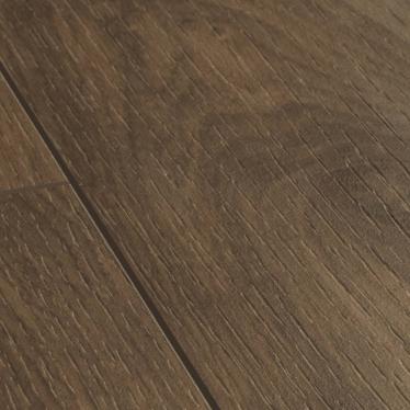 Виниловый ламинат Quick-Step Дуб коттедж темно-коричневый 40027 - купить в «Начни Ремонт» интернет-магазин — продажа напольных покрытий. - 1