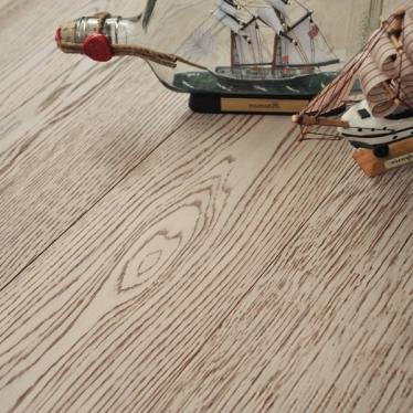Инженерная доска Coswick Дуб Белый Мрамор 127мм Шелковое Масло - купить в «Начни Ремонт» интернет-магазин — продажа напольных покрытий. - 2