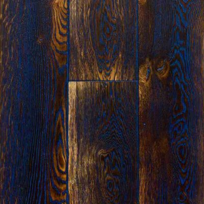 Siberian Floors Дуб Тюдор Осветленный Масло Синее