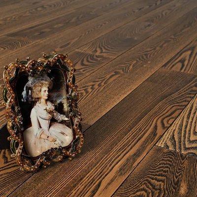 Массивная доска Amber Wood Ясень Коттедж