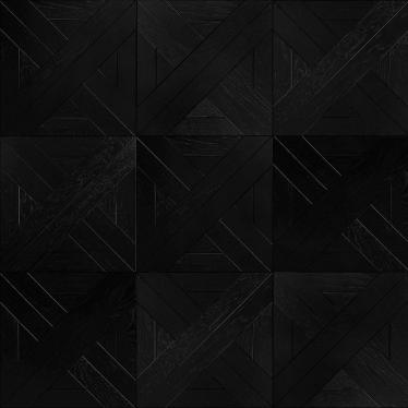 Модульный паркет Marco Ferutti Linea Дуб Неро Черный - купить в «Начни Ремонт» интернет-магазин — продажа напольных покрытий. - 7