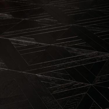 Модульный паркет Marco Ferutti Linea Дуб Неро Черный - купить в «Начни Ремонт» интернет-магазин — продажа напольных покрытий. - 9