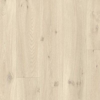 Виниловый ламинат Quick-Step Светло-бежевый дуб 40017