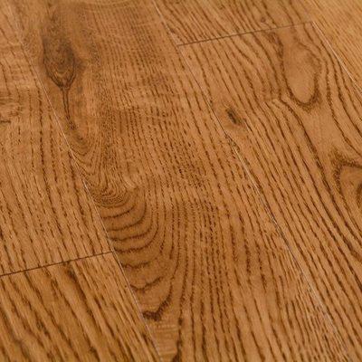 Массивная доска Coswick Дуб Орех 127мм Натур Шелковое Масло