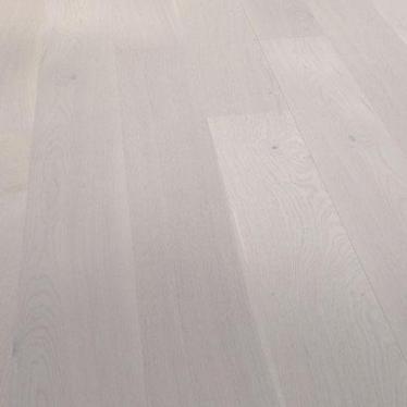 Паркетная доска Barlinek Дуб Уайт Трюфель Гранде - купить в «Начни Ремонт» интернет-магазин — продажа напольных покрытий. - 1