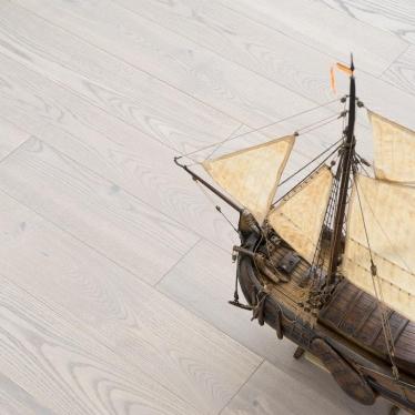 Инженерная доска Coswick Ясень Атлантик - купить в «Начни Ремонт» интернет-магазин — продажа напольных покрытий. - 1