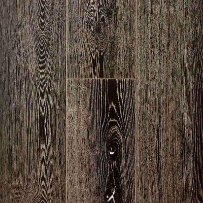 Инженерная доска Siberian Floors Дуб Лак УФ Черное Серебро