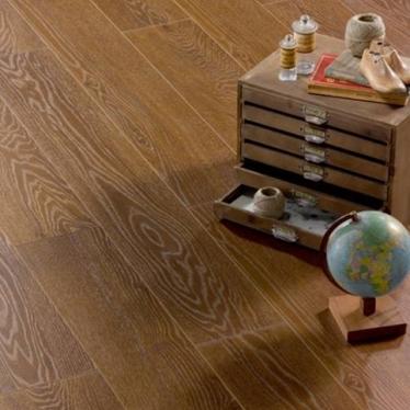 Ламинат Alsafloor Темный Каштан 415 - купить в «Начни Ремонт» интернет-магазин — продажа напольных покрытий. - 1