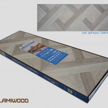 Ламинат Lamiwood Дуб Корсо 1242 - купить в «Начни Ремонт» интернет-магазин — продажа напольных покрытий. - 3