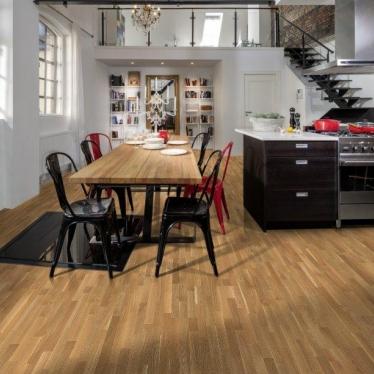 Паркетная доска Focus Floor Дуб Либецио - купить в «Начни Ремонт» интернет-магазин — продажа напольных покрытий. - 6