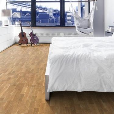 Паркетная доска Focus Floor Дуб Либецио - купить в «Начни Ремонт» интернет-магазин — продажа напольных покрытий. - 1
