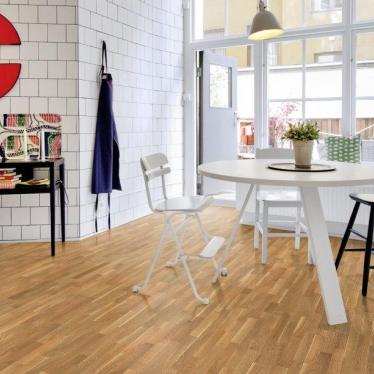 Паркетная доска Focus Floor Дуб Либецио - купить в «Начни Ремонт» интернет-магазин — продажа напольных покрытий. - 3
