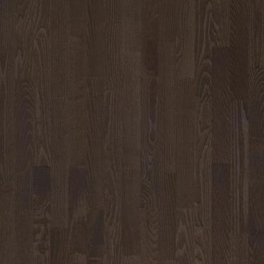 Паркетная доска Floorwood ASH Madison dark brown - купить в «Начни Ремонт» интернет-магазин — продажа напольных покрытий.
