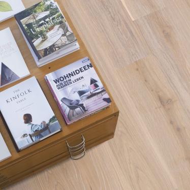 Паркетная доска Boen Дуб White nights - купить в «Начни Ремонт» интернет-магазин — продажа напольных покрытий.